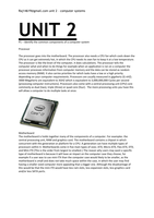 unit 2 resources p5 p7 m3 M3 - evaluate the performance of a computer system the computer system built in the previous tasks has an intel pentium e5500 dual-core processor with a 28ghz processing speed it has 2gb of ddr2 ram, 150gb hard drive and 767mb of graphics memory (a document with more information on the components is included separately.