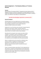 ESSAY: Unit 8 e-Commerce (Part 1 Of 3)