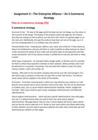 ESSAY: Unit 8 e-Commerce (Part 3 Of 3)