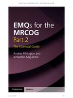 Exam: MRCOG EMQ