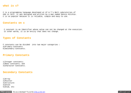 LECTURE NOTES: Introduction to c programming .