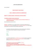 Examen: Institution Administrative L1