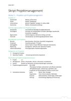 ZUSAMMENFASSUNG: Skript Projektmanagement 4. Semester SoSe2017