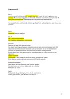 OVERIG: Programmeren H1-9 notities