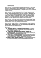 ESSAY: P1 - Unit 1 - The Business Environment