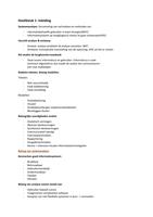 SAMENVATTING: Samenvatting Analyse & Design 1ste semester
