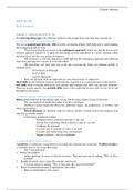 SUMMARY: HRM OB Book Summary CH 1-12 + 18