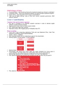 LECTURE NOTES: FM 474 Finance 2 Revision Guide
