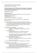 SAMENVATTING: Inleiding pedagogische wetenschappen hoorcolleges (deeltoets 1)