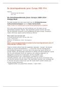 SAMENVATTING: Volledige en uitgebreide samenvatting hele boek 'De Duizelingwekkende jaren' / Oriëntatiecursus Cultuurwetenschappen