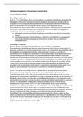 SAMENVATTING: Inleiding pedagogische wetenschappen literatuur (deeltoets 1, 2017)
