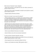 SUMMARY: intoxication revision notes