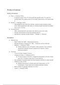SUMMARY: revision contract law notes