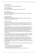 SAMENVATTING: sociologie