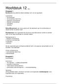 SAMENVATTING: Management en Organisatie H12