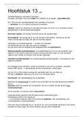 SAMENVATTING: Management en Organisatie H13