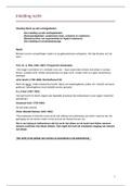 SAMENVATTING: Inleiding recht aantekeningen + samenvatting week 1