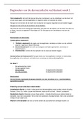 SAMENVATTING: Beginselen van de democratische rechtsstaat aantekeningen + samenvatting week 1