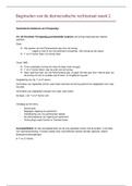 SAMENVATTING: Beginselen van de democratische rechtsstaat aantekeningen + samenvatting week 2