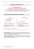 AUTRE: Méthodologie du commentaire d'arrêt