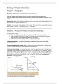 SAMENVATTING: Summary - Principles of Economics