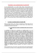 DISSERTATION: La loi constitutionnelle du 10 juillet 1940
