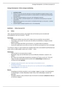 SAMENVATTING: Complete samenvatting Strategy Development   Online Scorecard 3.0   inclusief alle stof uit colleges 2017