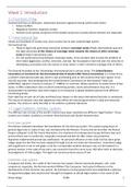 SAMENVATTING: BOL (Business Organization and Law) block 3