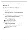 SAMENVATTING: Samenvatting hoorcolleges Geneesmiddelen bij Infecties en Tumoren
