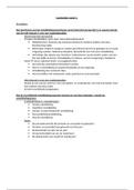 Antwoorden: Gedragswetenschappen leerdoelen week 1 t/m 7. Leerjaar 1, periode 2
