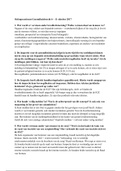 SAMENVATTING: Gezondheidrecht week 6 samenvatting en werkgroep antwoorden oefenpracticum