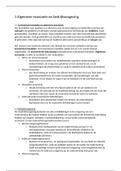 SAMENVATTING: Macro-economische ontwikkelingen en bedrijfsomgeving H1 t/m H5, H8 & H9.1