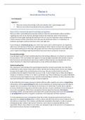 SUMMARY: Minor Cross-cultural psychology: Summary Theme 6: Intercultural Clinical Practice