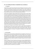 ESSAY: Unit 1: The Business Environment- D1 Task; excellent work. BTEC Business Level 3