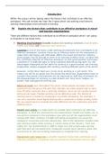 ESSAY: Prep for the Employment - P6 M3 D2