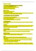 SUMMARY: Family Law Notes