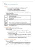 SUMMARY: Strategic Management 344