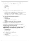 Prüfung: Marketing und Beschaffung Klausurfragen Prof. Wolfgang Mousiol