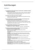 SAMENVATTING: inzichtsvragen boek anatomie