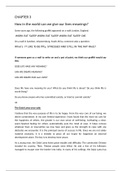 LECTURE NOTES: EDC1015 CHAPTER 3