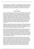 ESSAY: Unit 14 - Working as a Holiday Representative - P1 P2 P3 M1 D1