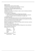 LECTURE NOTES: Managerial Accounting Fundamentals (Exam 2)
