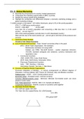 LECTURE NOTES: Marketing (Exam 1)
