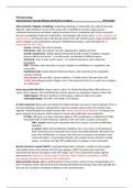 SUMMARY: Samenvatting Pathophysiology (DT2) BMW jaar 3 Track Patiëntgericht