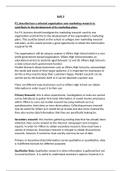 ESSAY: BTEC LEVEL 3 Diploma Business, Unit 3, P3