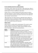 ESSAY: BTEC LEVEL 3 Diploma Business, Unit 3, P5