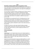ESSAY: BTEC Business Level 3, Unit 3, P6