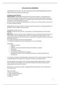 SUMMARY: Clinical Nutrition BMW3004