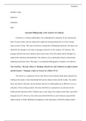 ESSAY: Annotated Bibliography of the Analects of Confucius