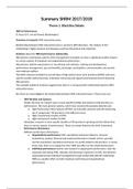 SUMMARY: SHRM Summary articles 17-18